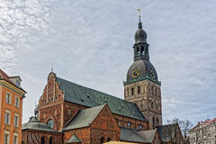 Rigas Doms, Cathedral of Riga City Royalty Free Stock Photos
