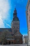 Rigas Doms, Kathedrale von Riga-Stadt Stockfotos