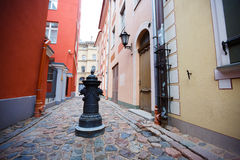 Rigas Straßen Lizenzfreie Stockbilder