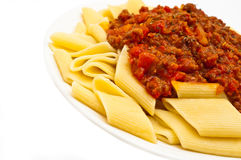 Rigate bolognese Stock Images