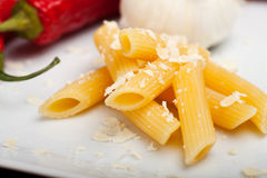Rigatoni Foto de Stock Royalty Free