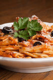 Rigatoni with cheese Royalty Free Stock Images