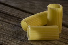 Rigatoni italiano de las pastas Fotos de archivo libres de regalías