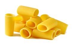 Rigatoni italiensk pasta Arkivbilder