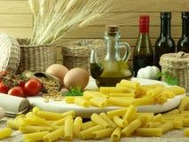 Rigatoni pasta Stock Image