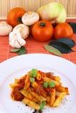 Rigatoni Pasta Royalty Free Stock Photos
