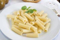 Rigatoni pasta Royalty Free Stock Photography