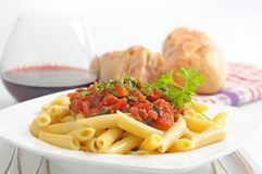 Rigatoni Pasta Royalty Free Stock Photo