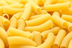 Rigatoni pasta background Stock Photography