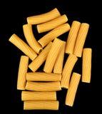 Rigatoni whole wheat pasta Stock Image