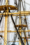 Rigg on a old ship Stock Photos