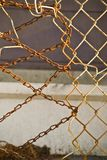 Rigged Fencing Royalty Free Stock Photography