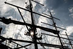 rigging för masts Royaltyfri Bild