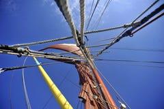Rigging för Ships Arkivfoto