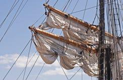 rigging munhuggas windjammer Arkivbilder