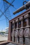 Rigging of old sailing ship Royalty Free Stock Photo