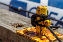 Rigging rope Royalty Free Stock Images