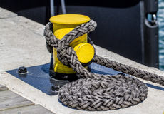 Rigging rope Stock Image