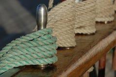 Rigging sailing ship Stock Image