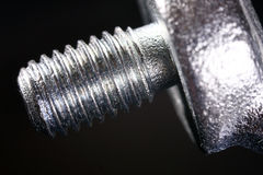 Rigging screw thread Stock Image