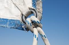 rigging seglar Arkivbild