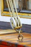 rigging ship Arkivbild
