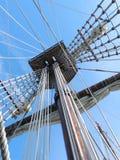 rigging ships Royaltyfria Foton