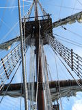 Rigging spanish galleon Royalty Free Stock Photos