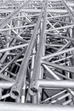 Rigging truss of stage Royalty Free Stock Image