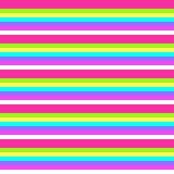 Righe & colori di carta impilati Fotografia Stock
