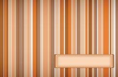 Righe arancioni Fotografie Stock Libere da Diritti