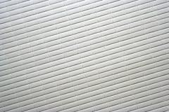 Righe bianche diagonali Fotografia Stock