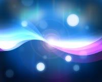 Righe chiare blu Immagini Stock