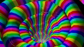 Righe chiare di colore astratto Immagine Stock Libera da Diritti