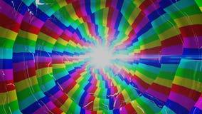 Righe chiare di colore astratto Fotografie Stock
