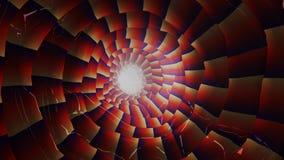 Righe chiare di colore astratto Fotografia Stock