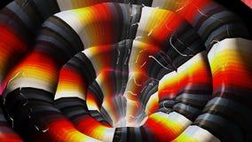 Righe chiare di colore astratto Fotografia Stock Libera da Diritti