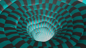 Righe chiare di colore astratto Immagini Stock