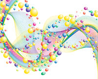 Righe Colourful royalty illustrazione gratis