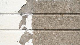 Righe concrete Fotografia Stock