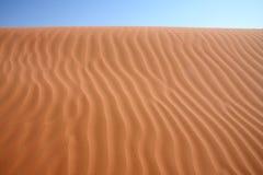 righe dei deserti Fotografia Stock Libera da Diritti
