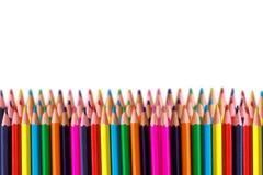 Righe della matita colorata immagine stock libera da diritti