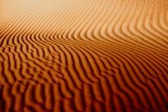 Righe della sabbia fotografia stock