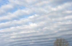 Righe delle nubi immagine stock libera da diritti