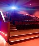 Righe delle sedi del teatro Fotografia Stock