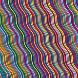 Righe di colore astratte illustrazione di stock