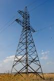 Righe di energia elettrica Fotografia Stock Libera da Diritti