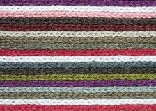 Righe di lavoro a maglia Immagini Stock Libere da Diritti