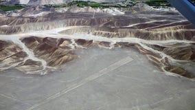 Righe di Nazca Fotografie Stock