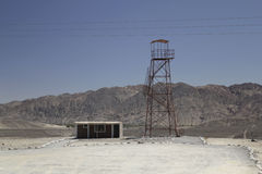 Righe di Nazca e deserto peruviano Immagine Stock Libera da Diritti